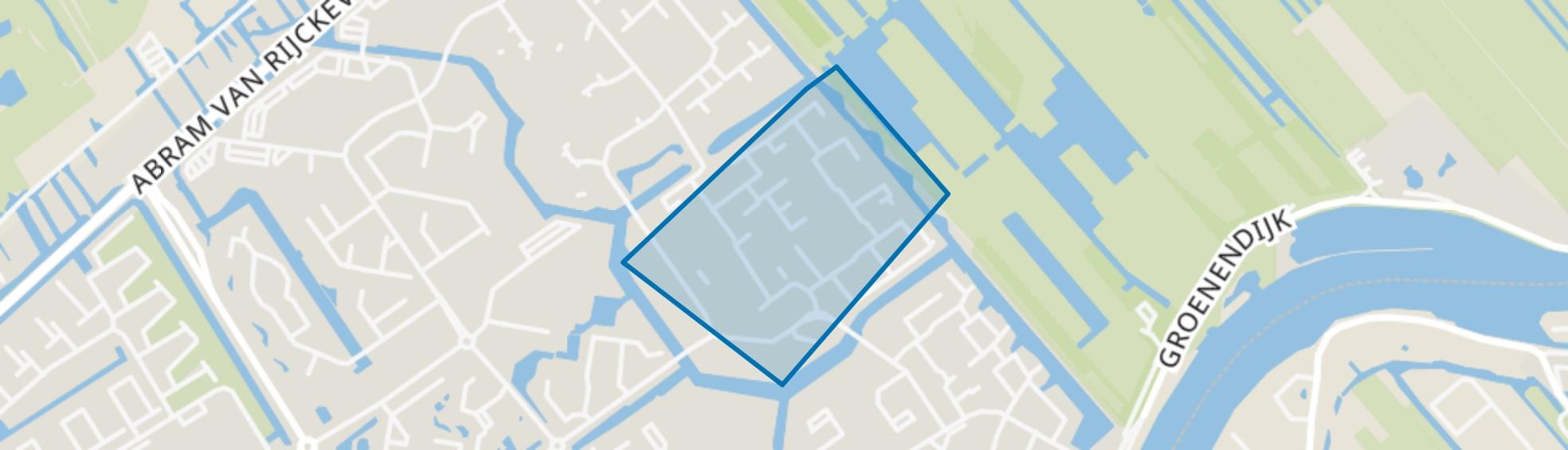 Dalenbuurt, Capelle aan den IJssel map