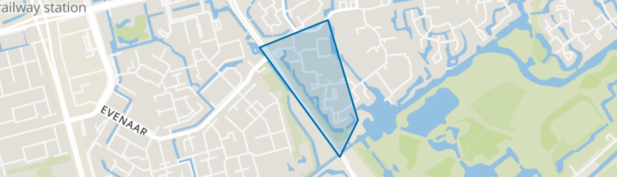Dansenbuurt-zuid, Capelle aan den IJssel map