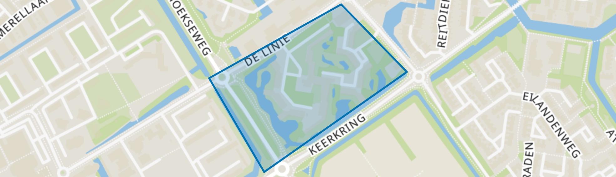 De Baronie, Capelle aan den IJssel map