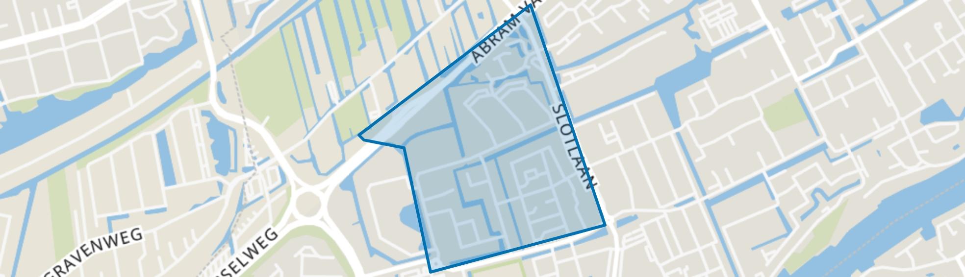 Dichtersbuurt, Capelle aan den IJssel map