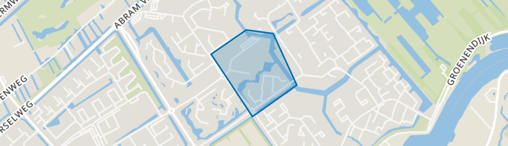 Diepenbuurt, Capelle aan den IJssel map