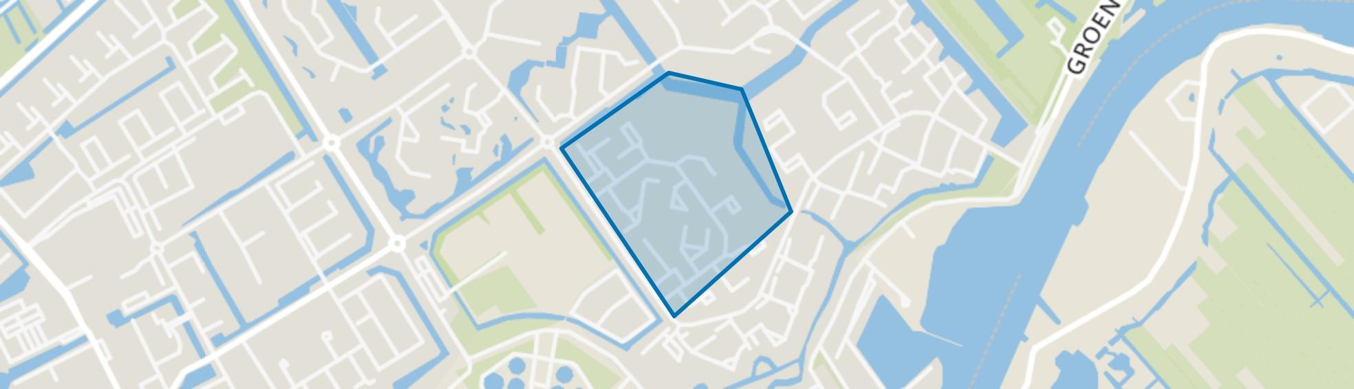 Eilandenbuurt, Capelle aan den IJssel map