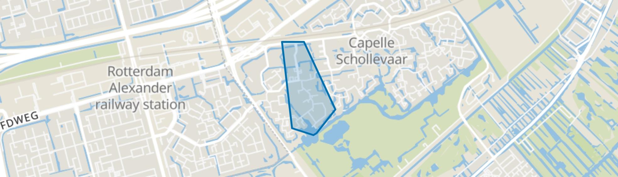 Ervenbuurt, Capelle aan den IJssel map