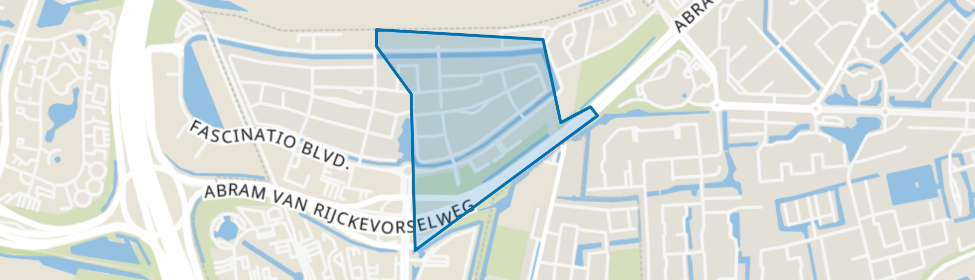Fascinatio-oost, Capelle aan den IJssel map