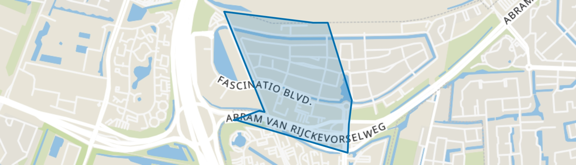 Fascinatio-west, Capelle aan den IJssel map