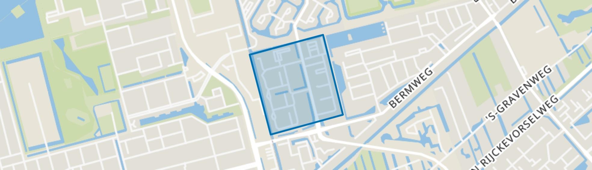 Florabuurt, Capelle aan den IJssel map