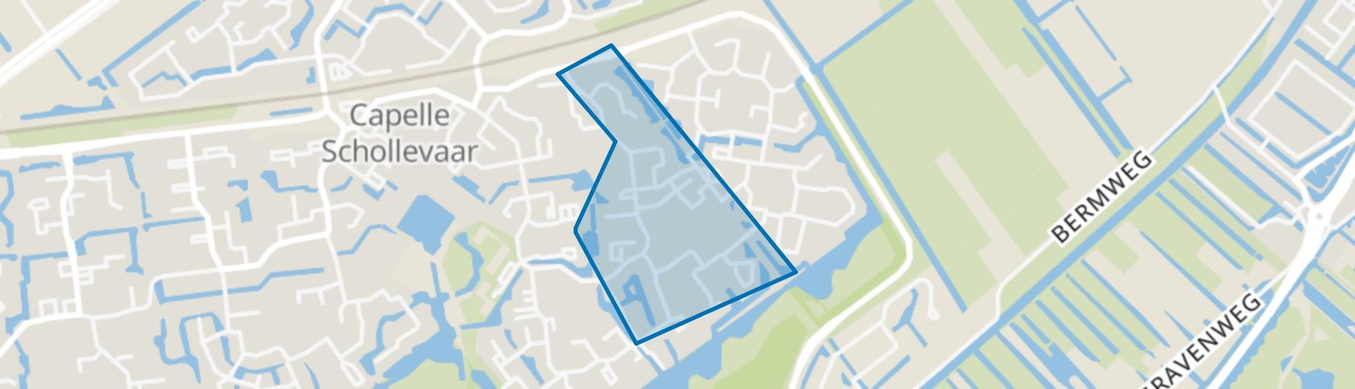 Gebouwenbuurt, Capelle aan den IJssel map