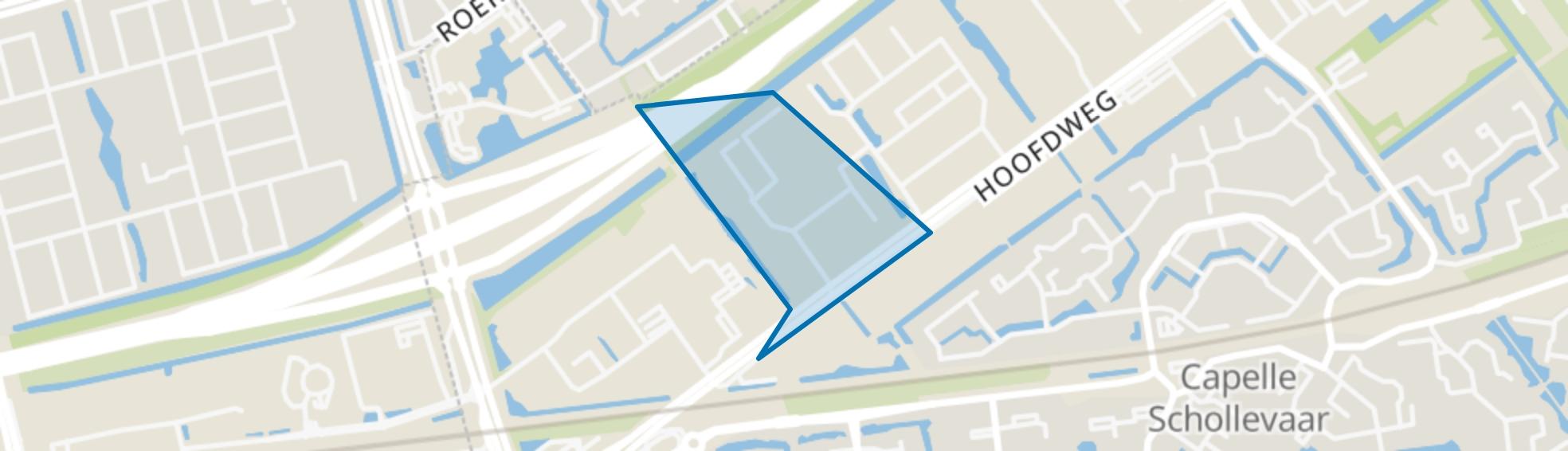 Hoofdweg sector B, Capelle aan den IJssel map