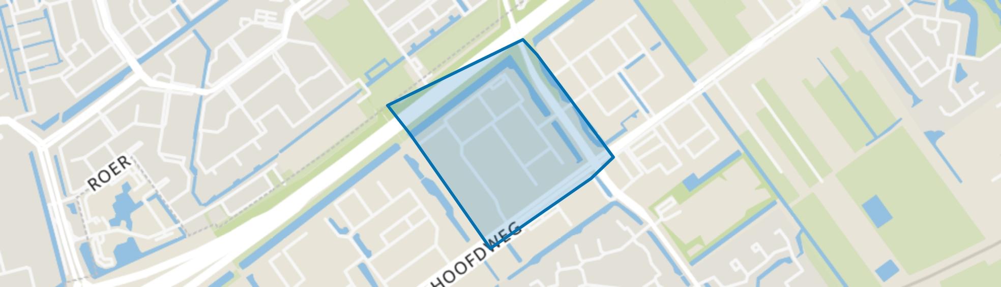 Hoofdweg sector D, Capelle aan den IJssel map