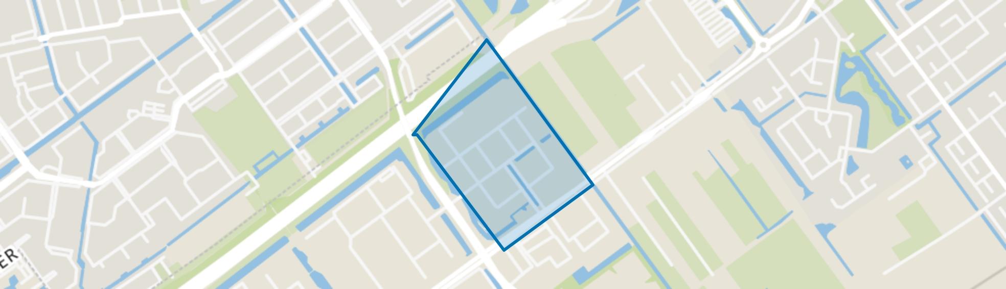 Hoofdweg sector G, Capelle aan den IJssel map