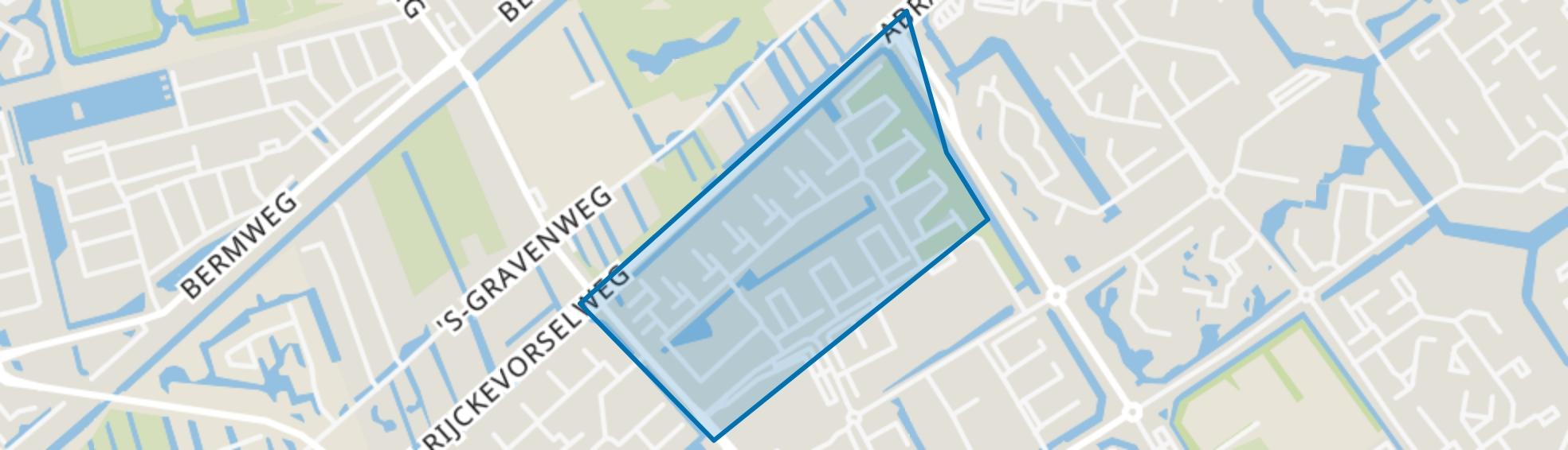 Hovenbuurt, Capelle aan den IJssel map