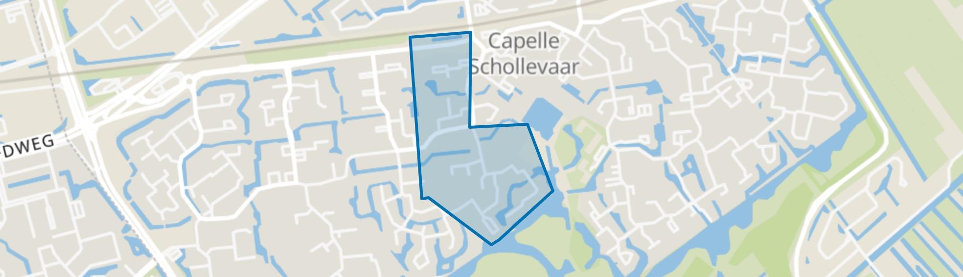 Instrumentenbuurt, Capelle aan den IJssel map