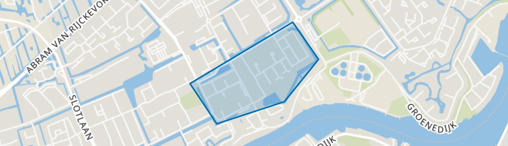 Kievitlaan, Capelle aan den IJssel map