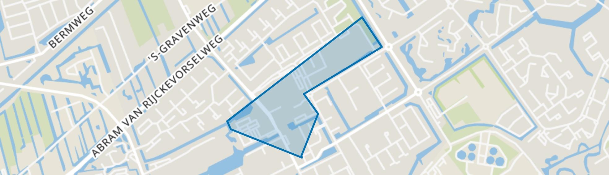 Koperwiek, Capelle aan den IJssel map