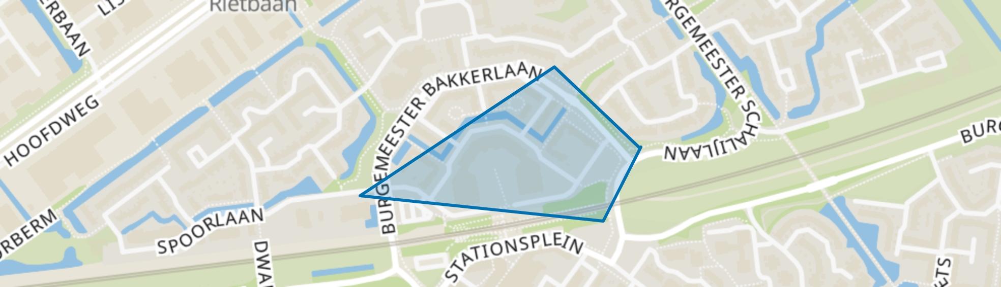 Kunstenaarsbuurt-noord, Capelle aan den IJssel map