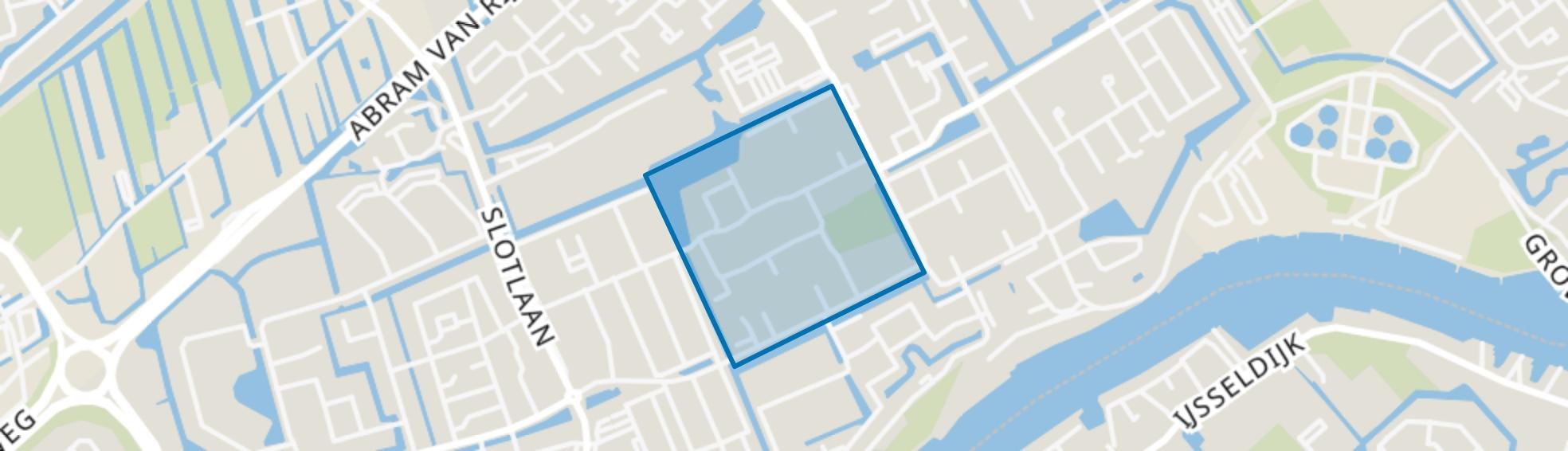 Meeuwenbuurt, Capelle aan den IJssel map