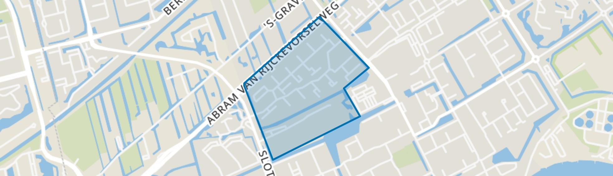 Merelbuurt, Capelle aan den IJssel map