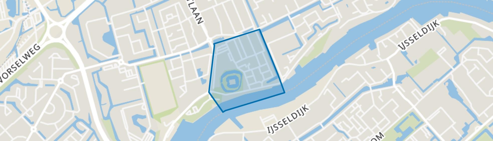 Oude Plaats, Capelle aan den IJssel map