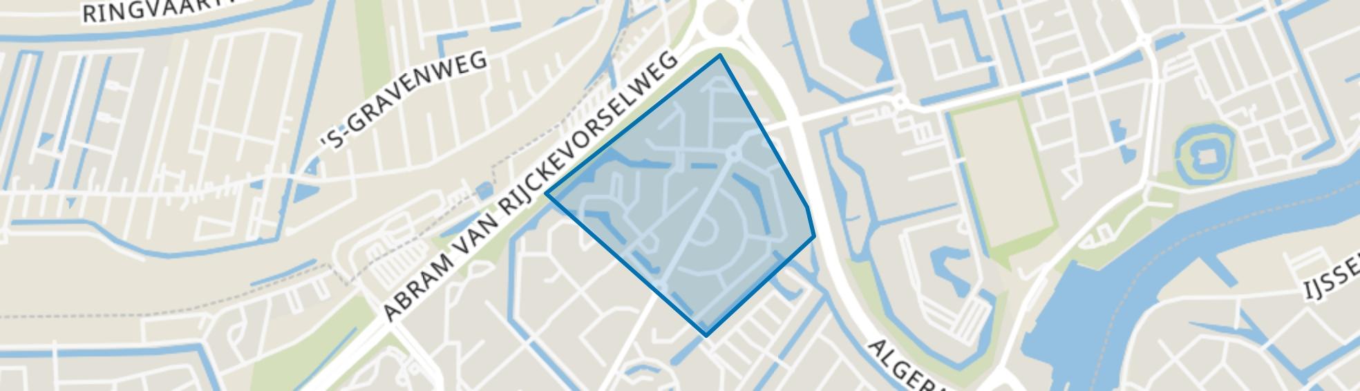 Paganinibuurt, Capelle aan den IJssel map