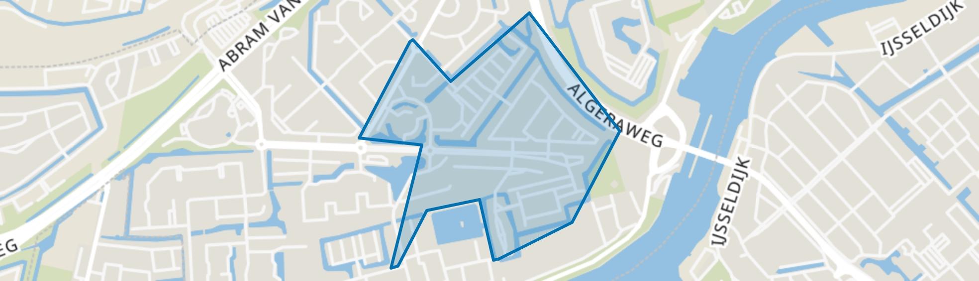 Puccinibuurt, Capelle aan den IJssel map