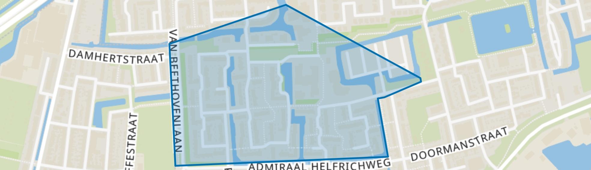 Redebuurt, Capelle aan den IJssel map
