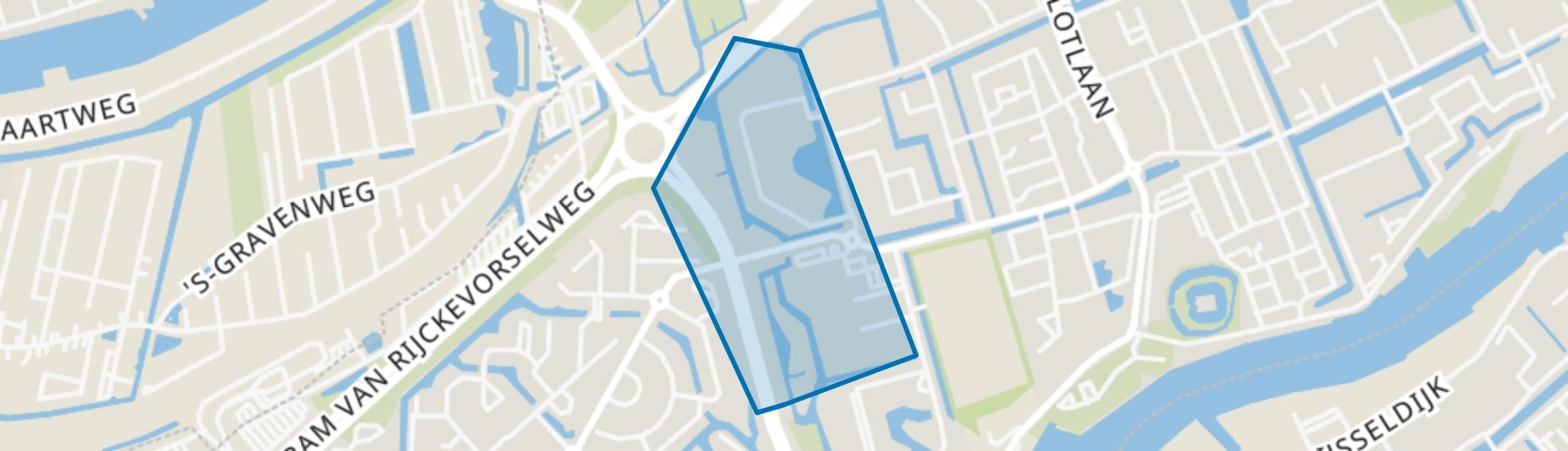 Reviusbuurt, Capelle aan den IJssel map