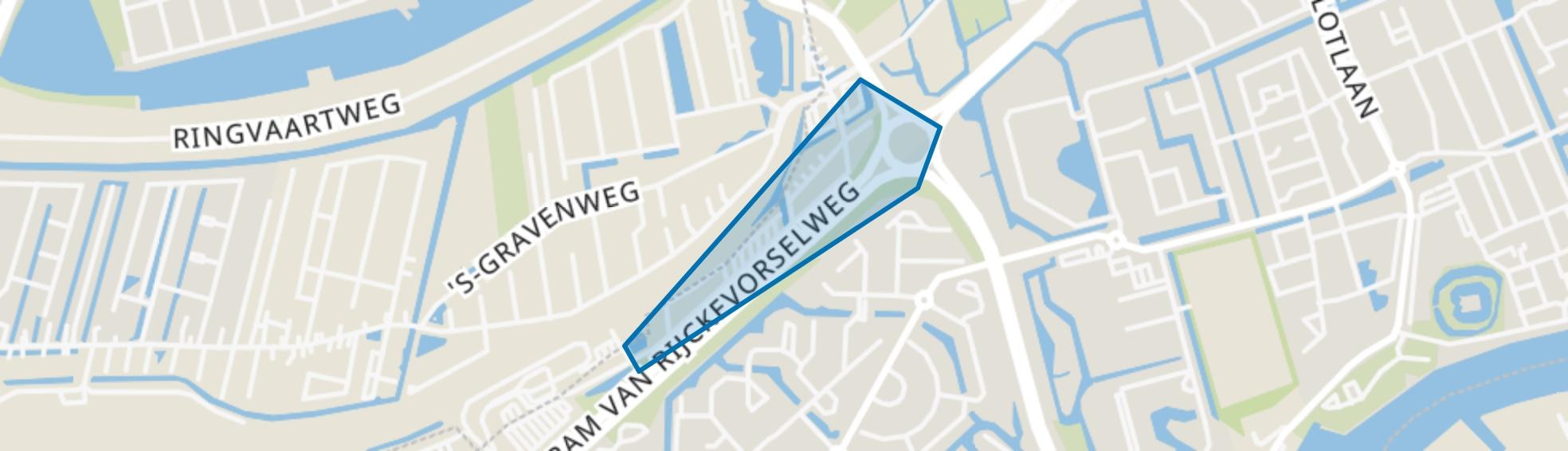 Rijckevorselpark, Capelle aan den IJssel map