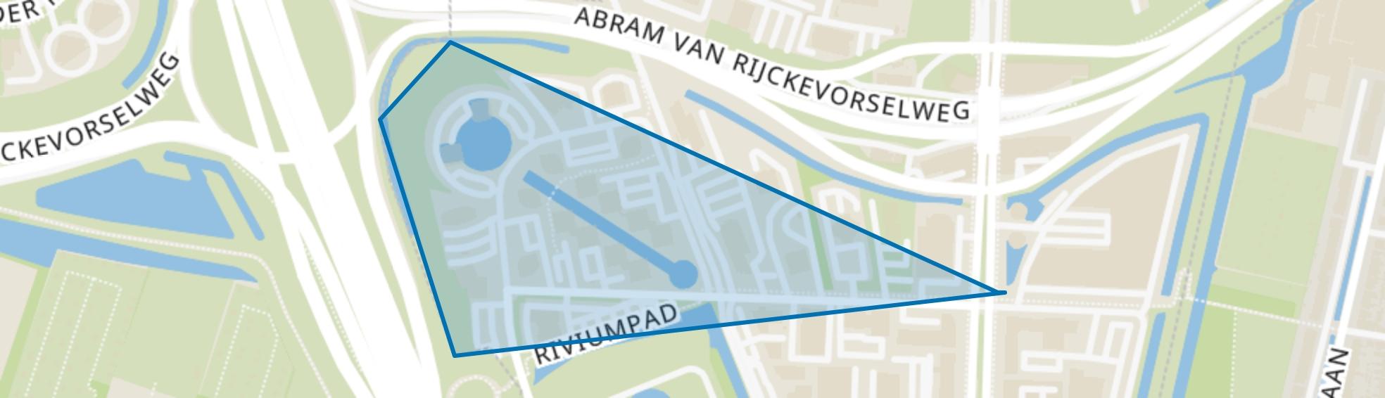 Rivium 1e straat, Capelle aan den IJssel map