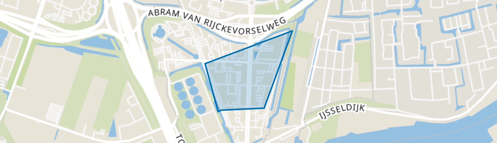 Rivium 2e straat, Capelle aan den IJssel map