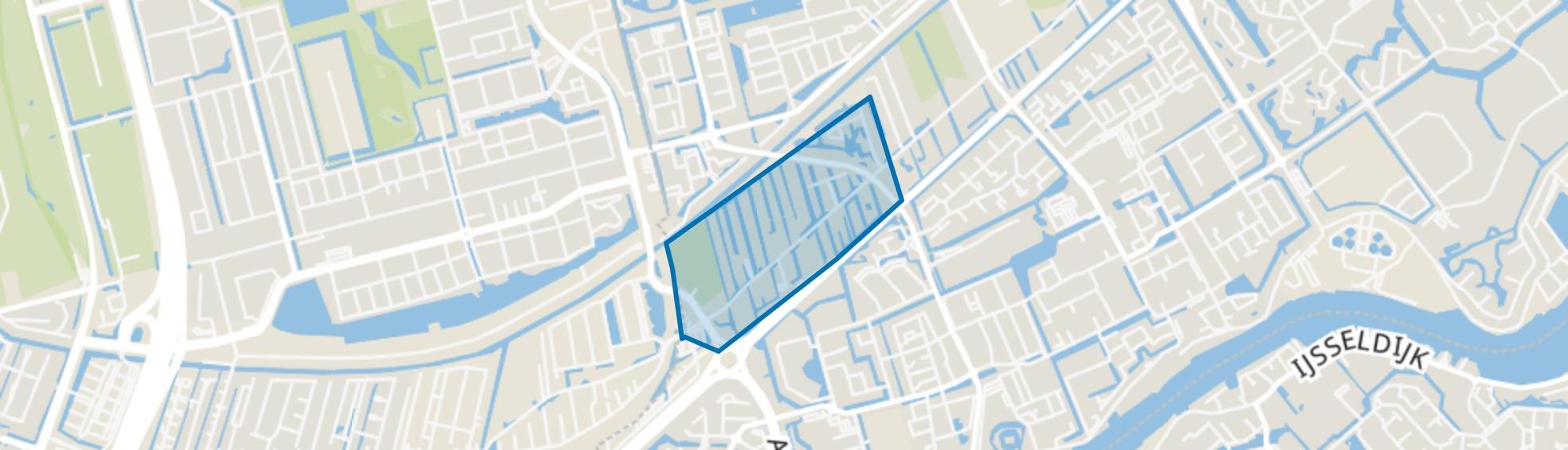 's-Gravenweg/Alexanderlaan, Capelle aan den IJssel map