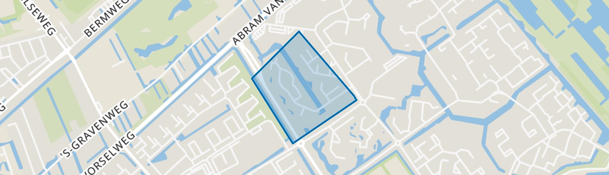 Scandinavischebuurt, Capelle aan den IJssel map