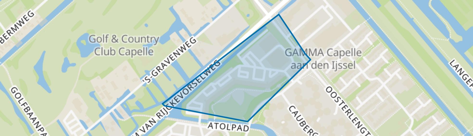 Schermerhoek, Capelle aan den IJssel map