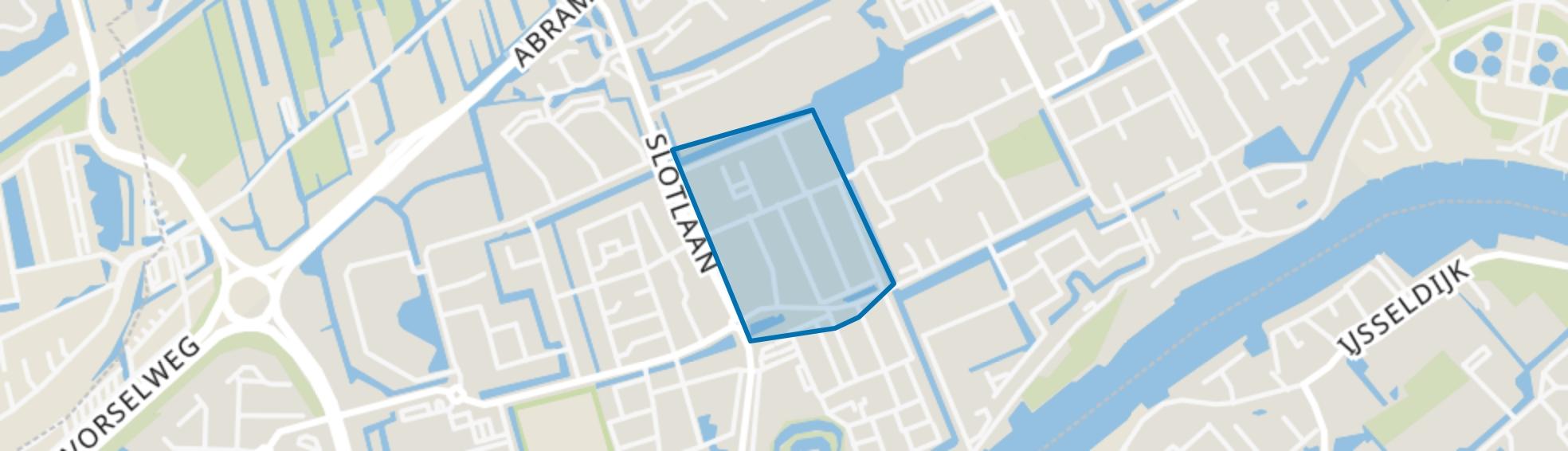 Schildersbuurt, Capelle aan den IJssel map