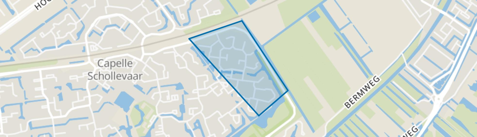 Schildersvormenbuurt, Capelle aan den IJssel map