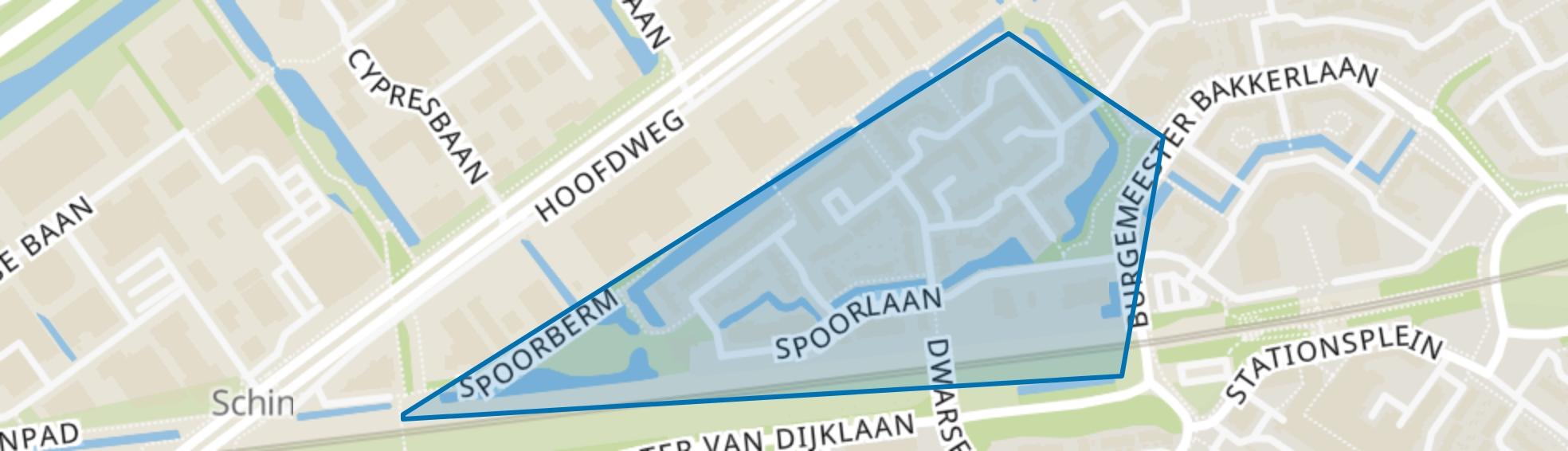 Sporenbuurt-west, Capelle aan den IJssel map