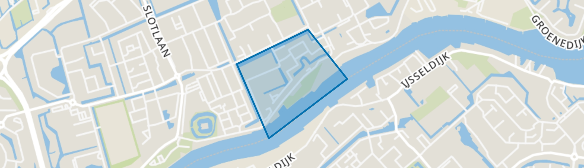 Vuykterrein, Capelle aan den IJssel map