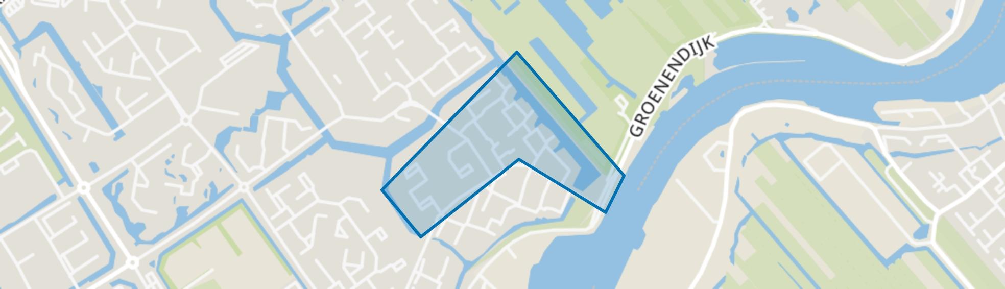 Waardenbuurt, Capelle aan den IJssel map