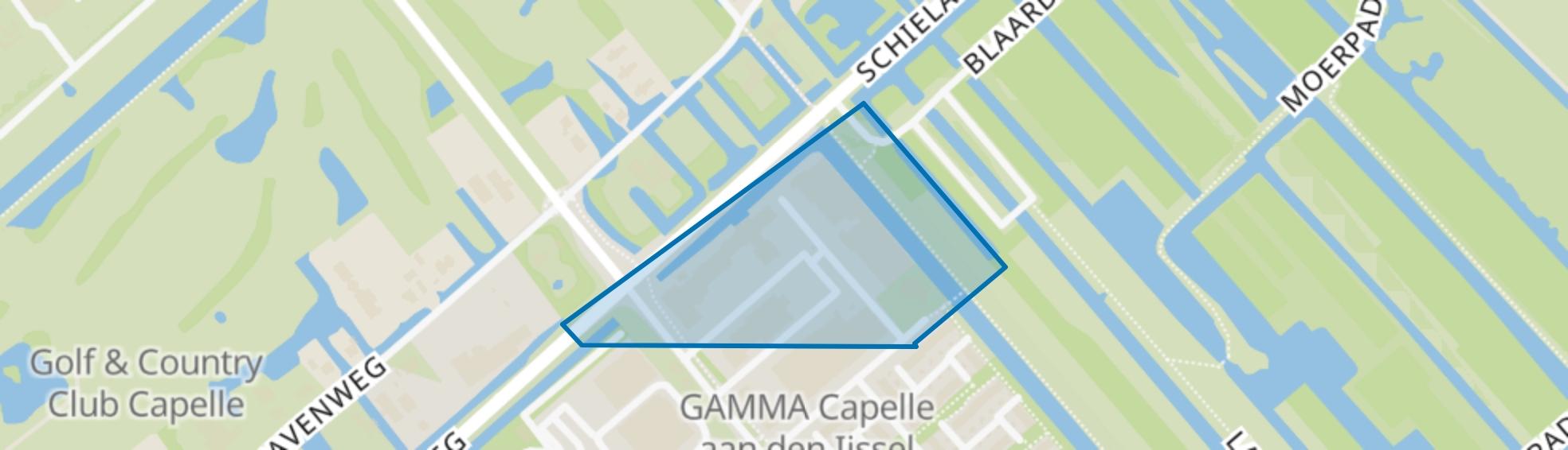 Wormerhoek, Capelle aan den IJssel map