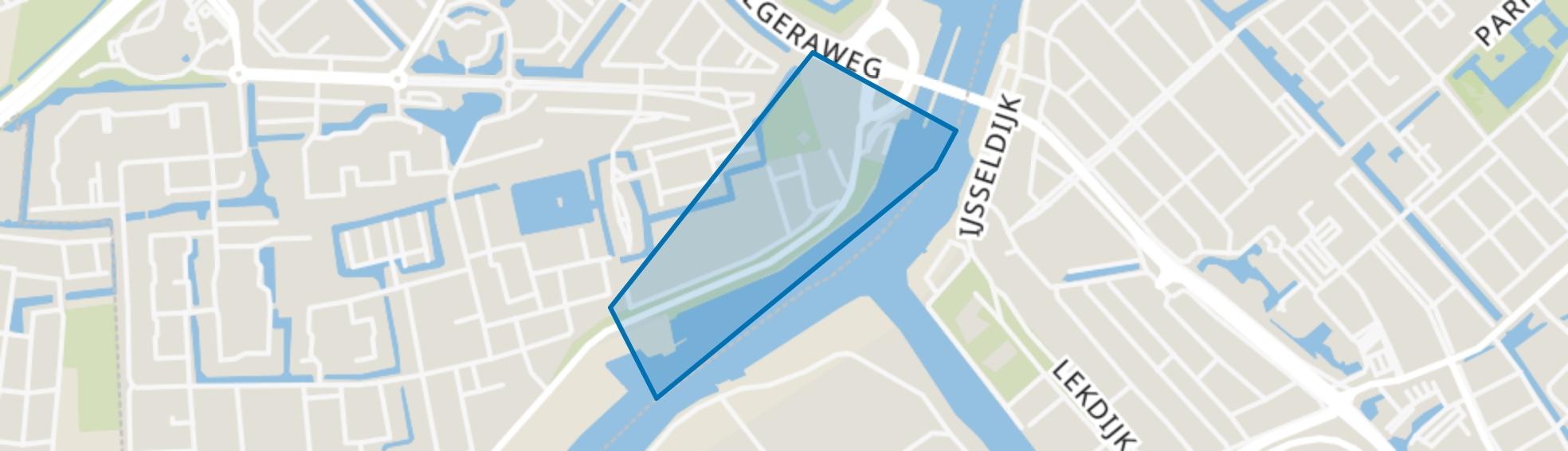 Zeeheldenbuurt-oost, Capelle aan den IJssel map