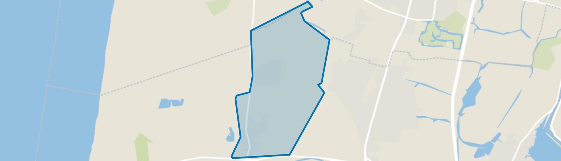 Bakkum-Noord, Castricum map