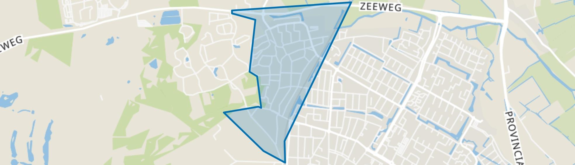 Bakkum-Zuid, Castricum map