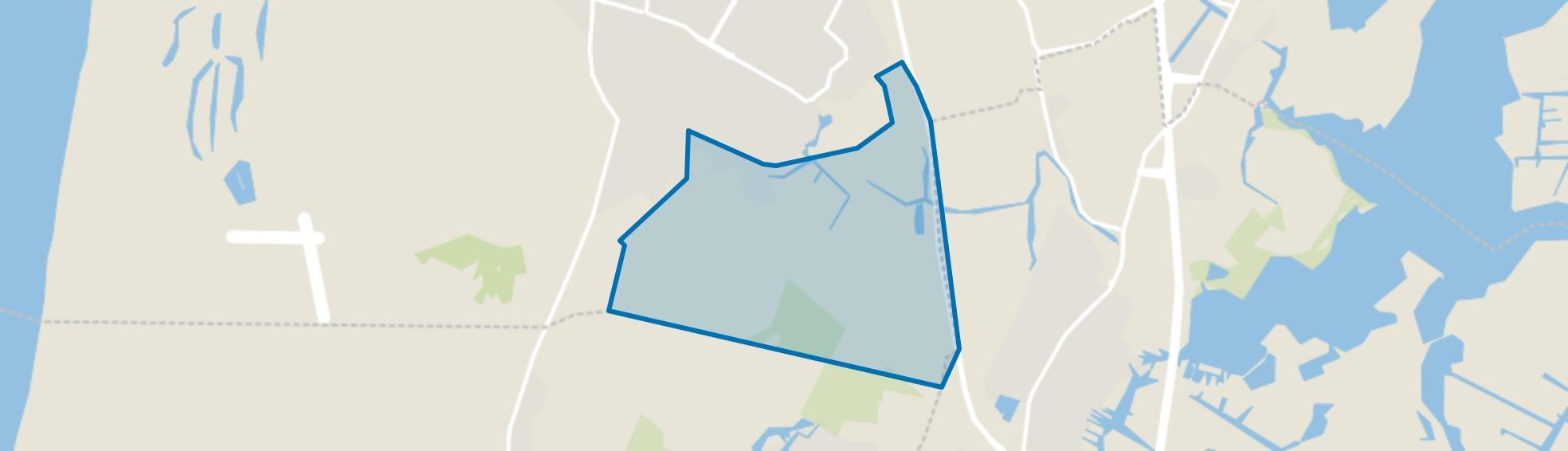 Buitengebied, Castricum map
