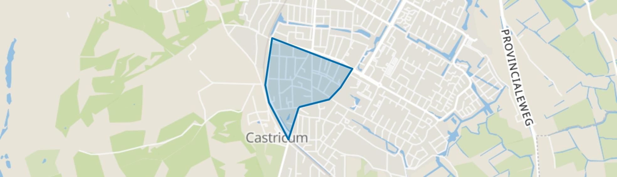 Centrum-Noord, Castricum map