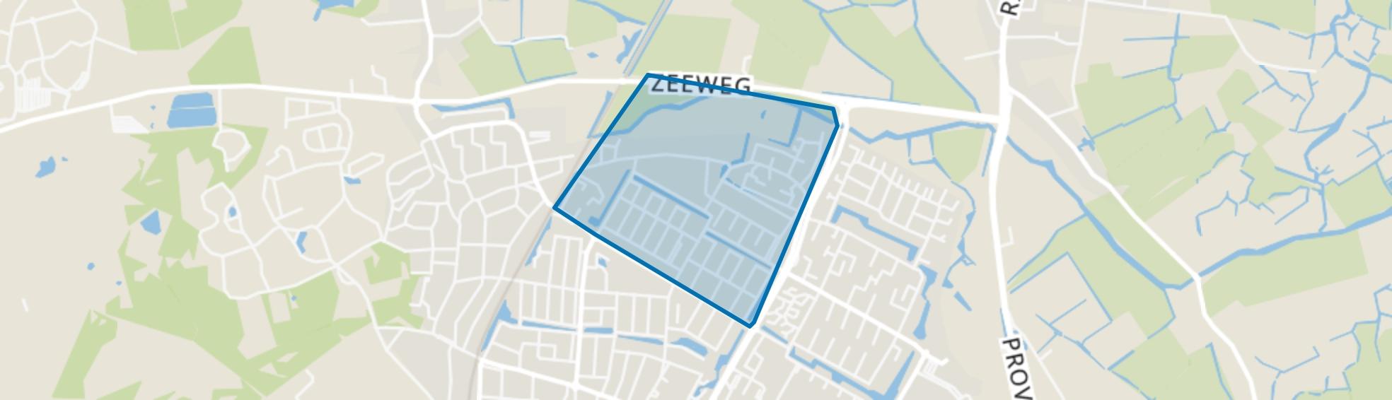 Kooiweg, Castricum map