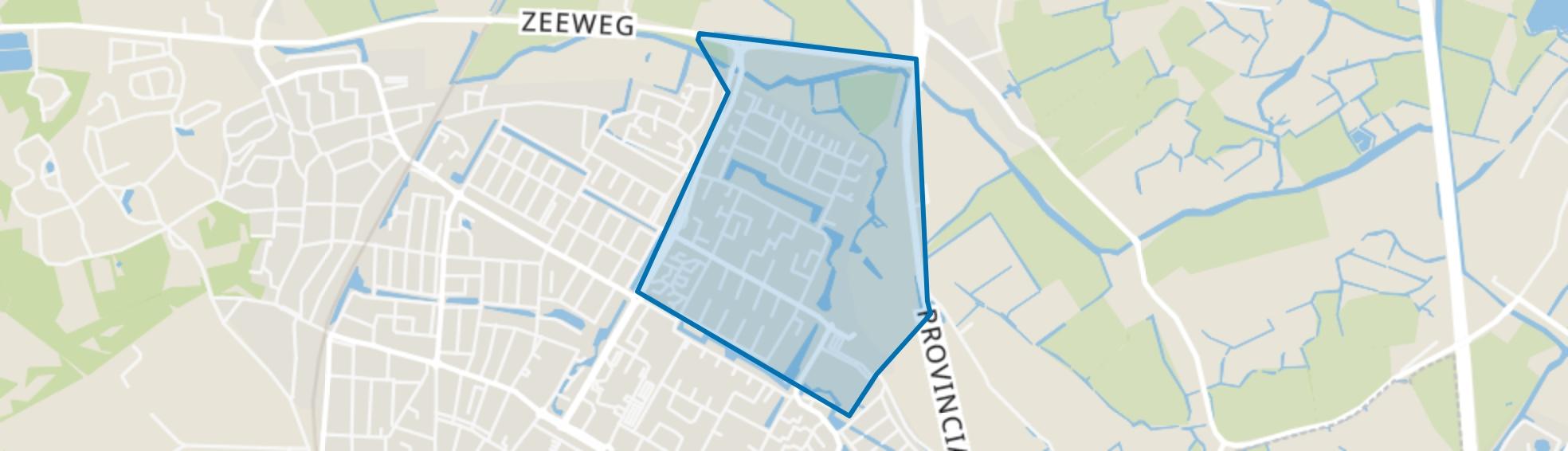 Noord-End, Castricum map