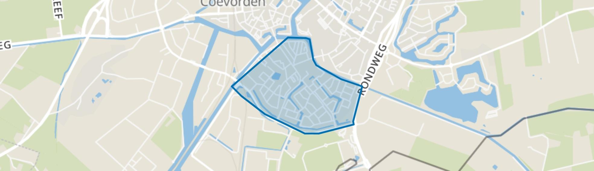 De Heege, Coevorden map