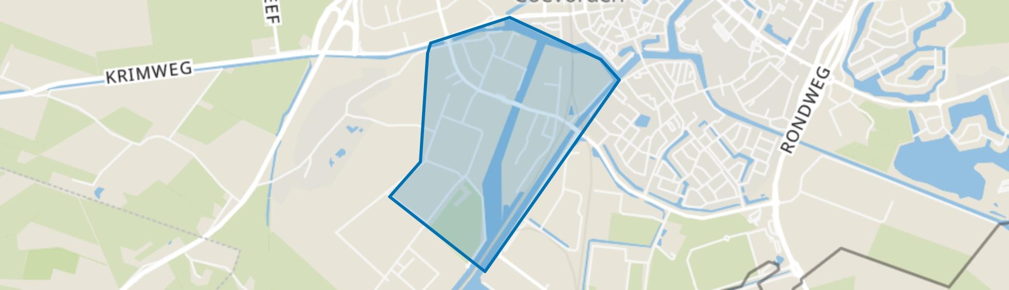 Leeuwerikenveld, Coevorden map