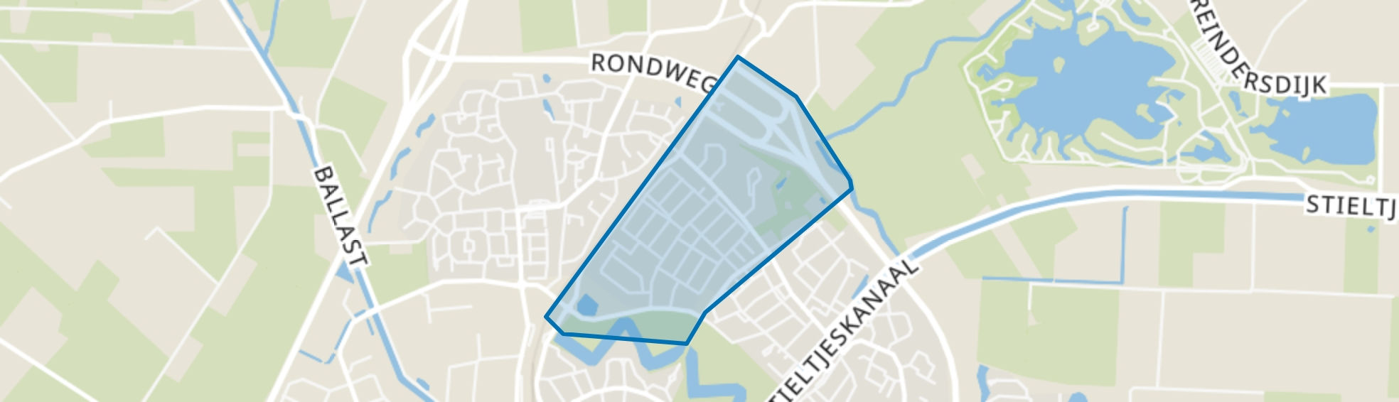 Lootuinen, Coevorden map