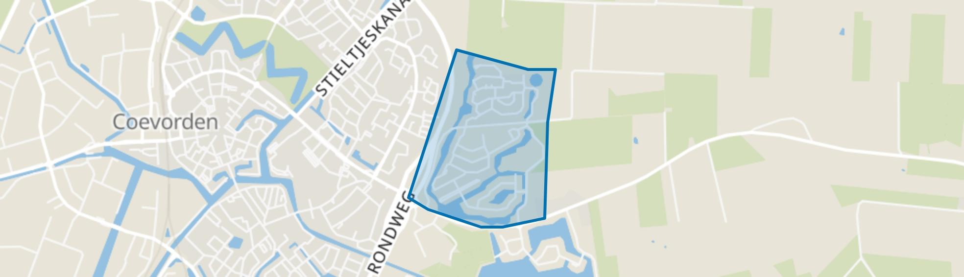 Ossehaar, Coevorden map