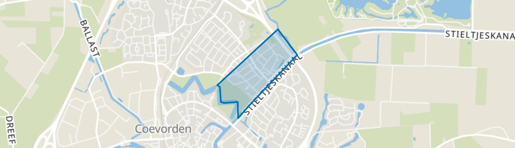 Poppenhare, Coevorden map